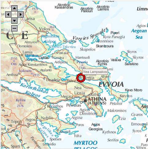 Orasul Nea Lampsakos din Grecia (format din refugiati greci din Lapseki - anticul Lampsakos)